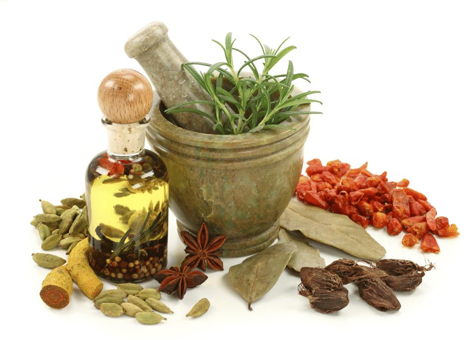 Natural healing herbal medicine