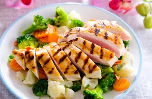 Healthy dinner diet