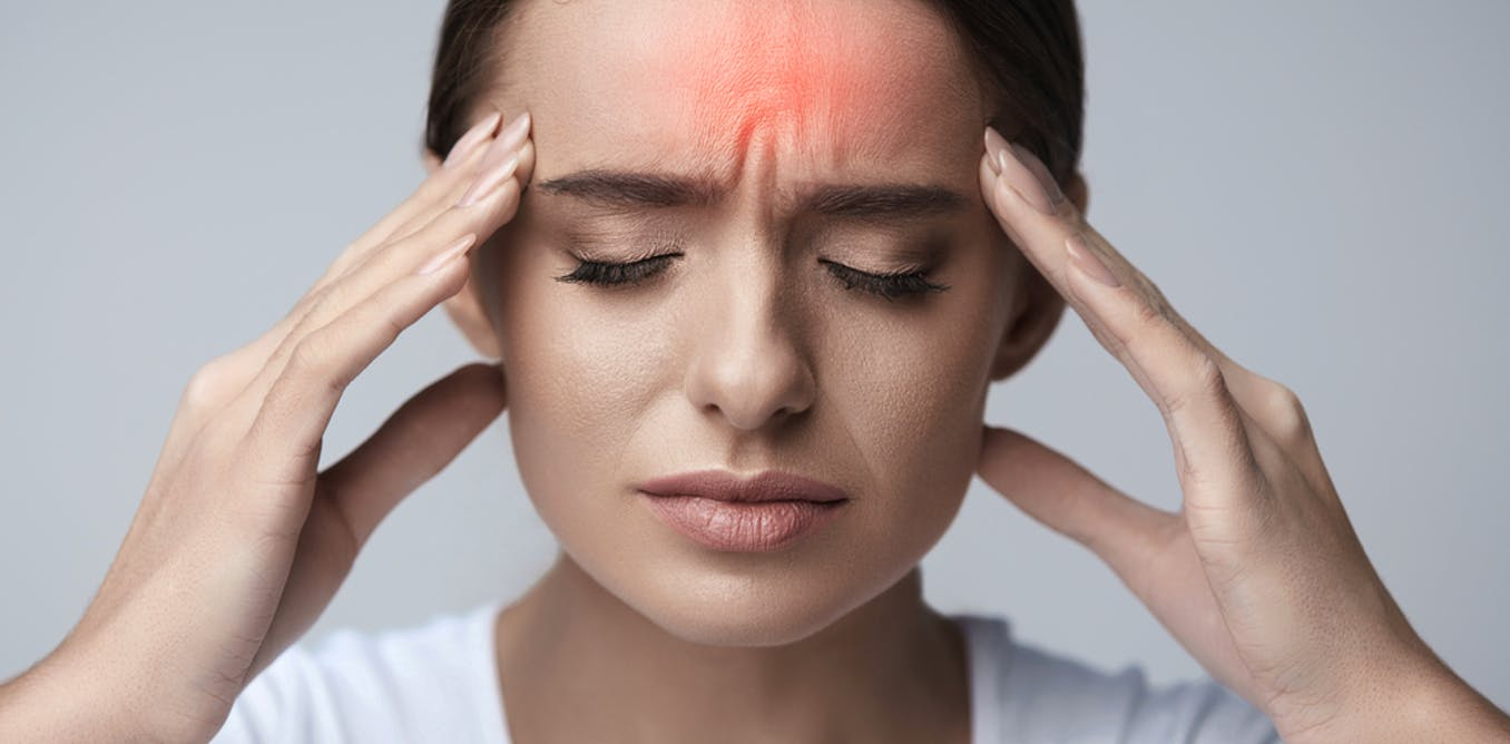 How to get relief of headache behind eyebrows