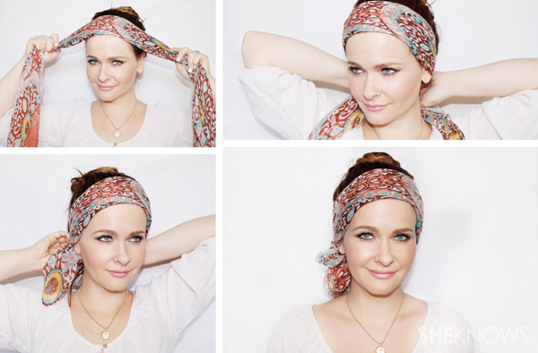 WRAP YOUR HAIR IN A SCARF