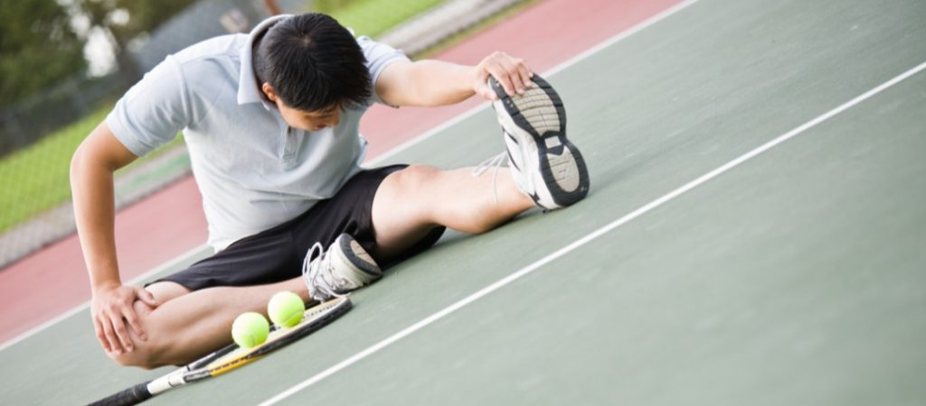 warm-up and stretching for tennis