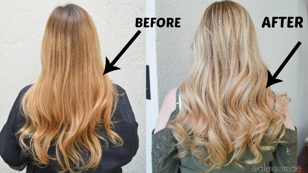 How to Remove Ash Toner from Hair