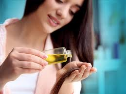 Oiling you hair