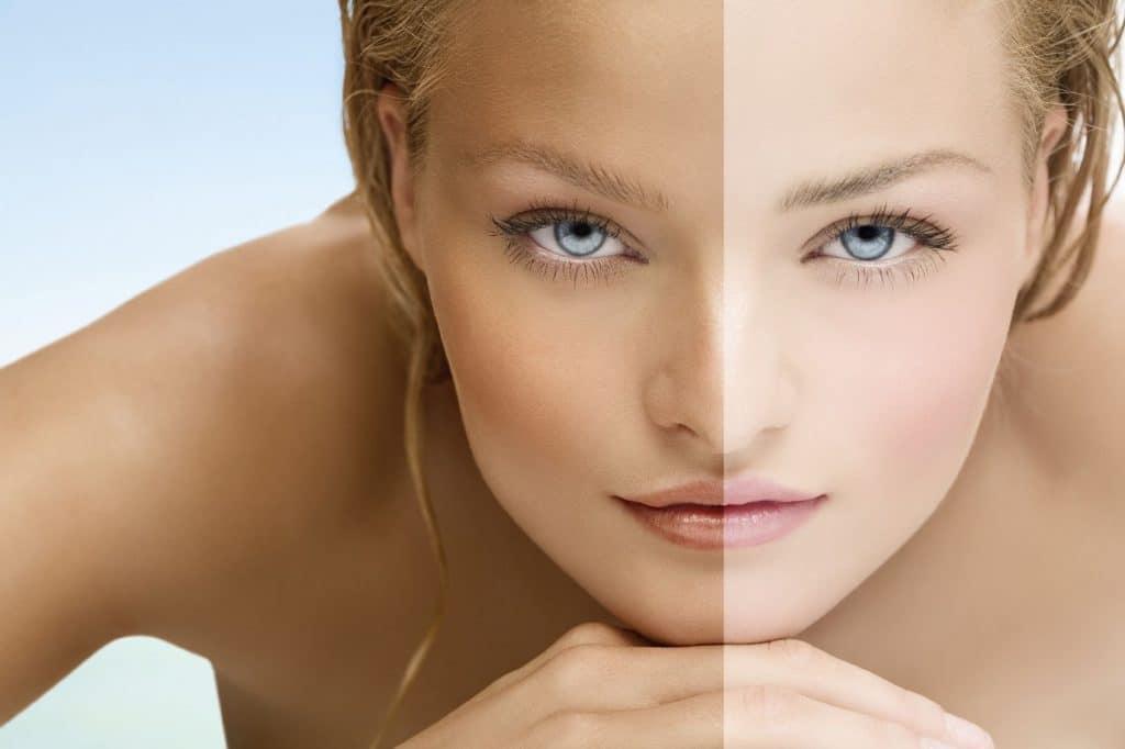 How to Get Paler Skin