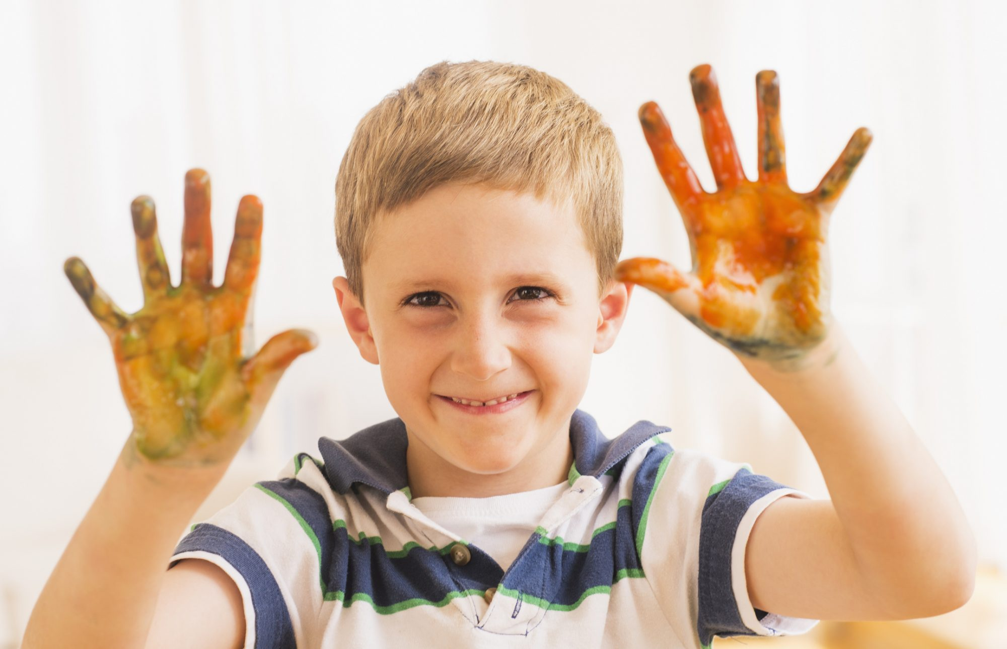 how to remove food coloring from skin