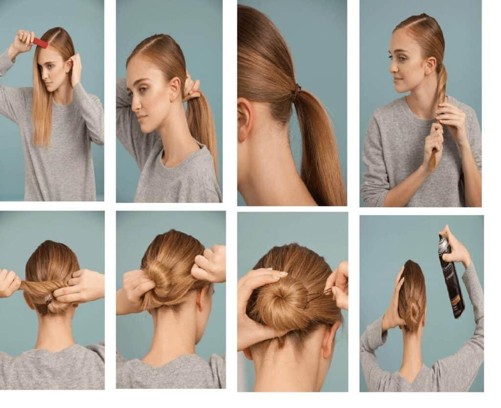 Ballerina Low Bun hairstyles